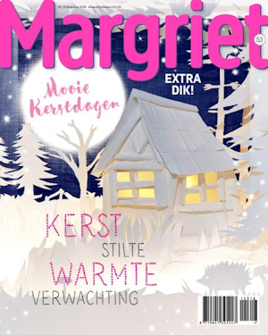 Cover Margriet kersteditie (53) 2016
