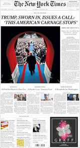 New York Times editie 21 januari
