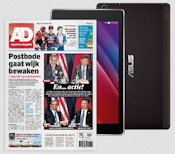 AD met Asus tablet