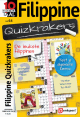 Kado abonnement op het puzzelboek Filippine Quizkrakers