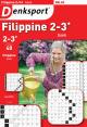 Denksport Filippine Boek 2-3* proef abonnement