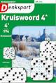 Denksport Kruiswoord 4 sterren proef abonnement