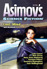 Abonnement op het maandblad Asimov's Science Fiction