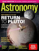 Abonnement op het blad Astronomy magazine