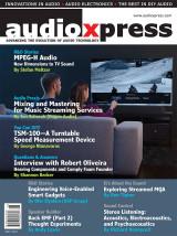 Abonnement op het blad AudioXpress
