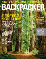 Abonnement op het blad Backpacker Magazine