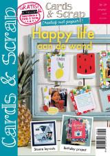 Abonnement op het blad Cards & Scrap