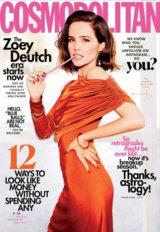Abonnement op het maandblad Cosmopolitan magazine USA
