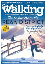 Abonnement op het blad Country Walking magazine