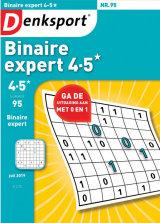 Abonnement op het blad Denksport Binaire Expert 4-5*