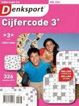 Abonnement op het blad Denksport Cijfercode 3 sterren