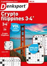Abonnement op het blad Denksport Cryptofilippines 3-4*