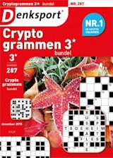 Abonnement op het blad Denksport Cryptogrammen Bundel 3*