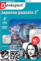 Abonnement op het blad Denksport Japanse Puzzels 3*