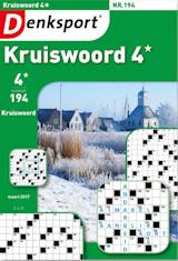 Abonnement op het blad Denksport Kruiswoord 4 sterren