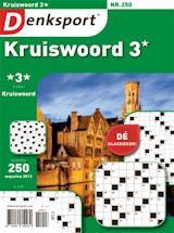 Cadeau-abonnement op Denksport Kruiswoord 3*