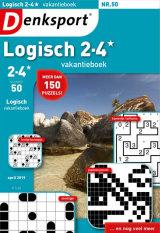 Abonnement op het blad Denksport Logisch Vakantieboek 2-4*
