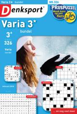 Abonnement op het blad Denksport Varia 3* Bundel