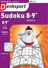 Abonnement op het blad Denksport Sudoku Extreme 8-9*