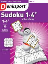 Abonnement op het blad Denksport Sudoku Scheurblok