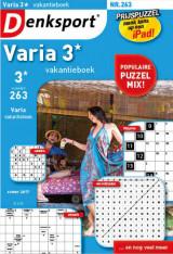 Denksport Varia 3* Vakantieboek