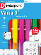 Abonnement op het blad Denksport Varia Scheurblok