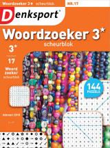 Abonnement op het blad Denksport Woordzoeker Scheurblok