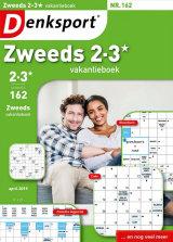 Abonnement op het blad Denksport Zweeds Vakantieboek 2-3*