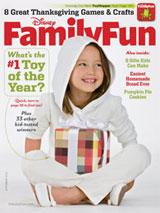 Abonnement op het maandblad Family Fun