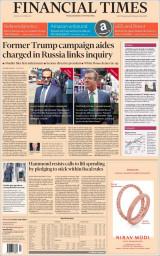 Abonnement op de krant Financial Times