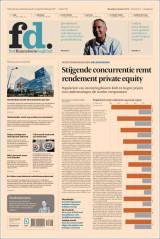Abonnement op het dagblad het Financieele Dagblad