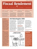 Abonnement op het blad Fiscaal Rendement