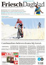 Friesch Dagblad voorpagina