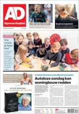 Abonnement op de AD Haagsche Courant
