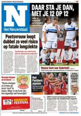 Abonnement op het dagblad Het Nieuwsblad