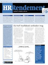 Abonnement op het maandblad HR Rendement