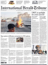 Cadeau-abonnement op International Herald Tribune