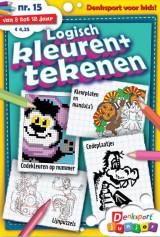 Abonnement op het blad Logisch Kleuren & Tekenen Junior