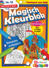 Abonnement op het blad Magisch Kleurblok
