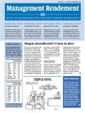 Abonnement op het maandblad Management Rendement