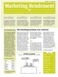 Abonnement op het blad Marketing Rendement