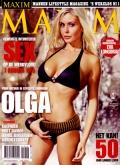 Abonnement op het blad Maxim