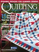 Cadeau-abonnement op McCall's Quilting
