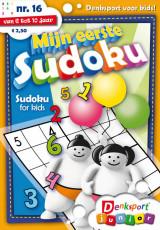 Abonnement op het blad Mijn eerste sudoku