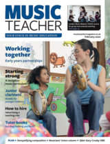 Abonnement op het blad Music Teacher magazine