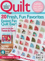 Cadeau-abonnement op Quilt Magazine