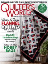 Cadeau-abonnement op Quilter's World
