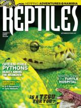 Abonnement op het blad Reptiles