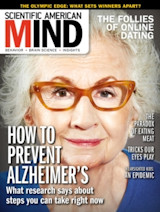Cadeau-abonnement op Scientific American Mind