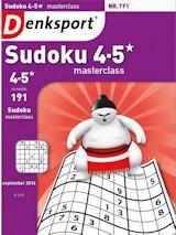 Abonnement op het blad Denksport Sudoku Masterclass 4-5*